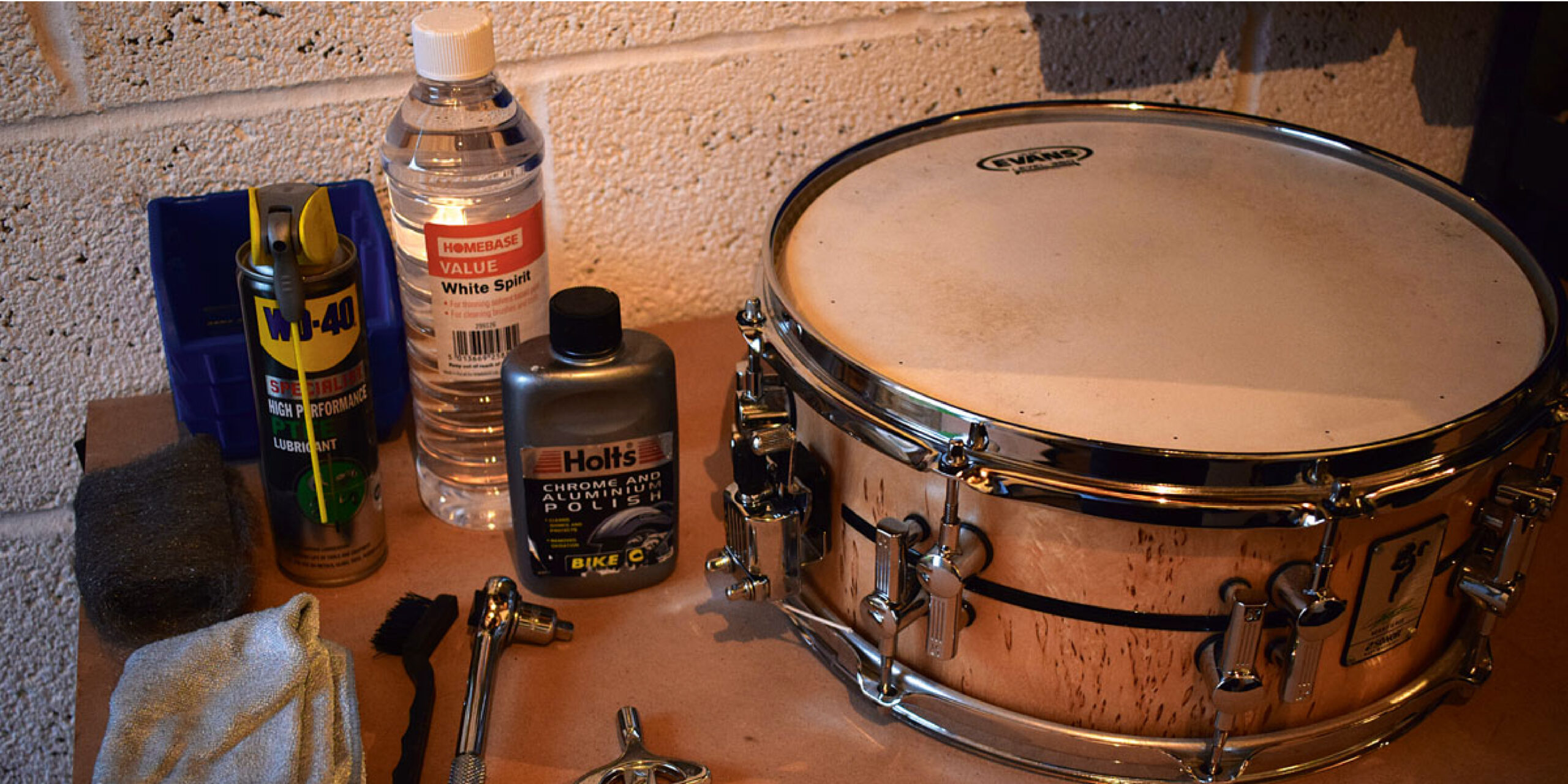 How to Clean Drums